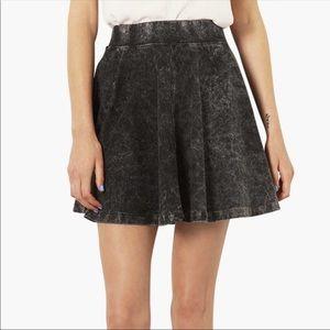 Dresses & Skirts - Gray acid wash skater skirt